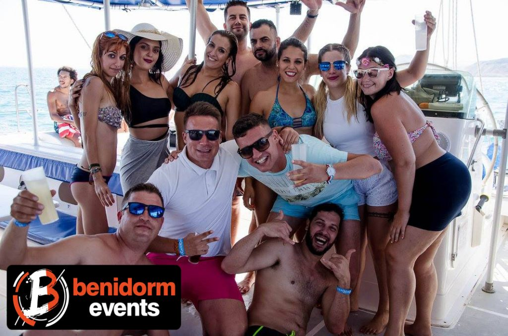 boat party Benidorm
