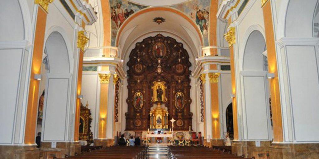 CHURCH OF SAN JAIME AND SANTA ANA benidorm fiesta
