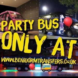 benidorm party bus review