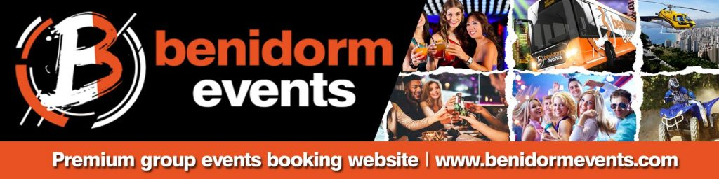 benidorm reviews and events banner